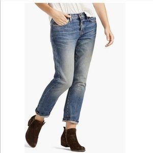 Lucky Brand Dylan Boyfriend Jeans Cropped Sz 0/25